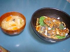秋刀魚のしょうが焼き