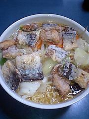 秋刀魚ラーメン