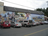 Chemainus Wall paint9464