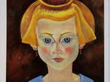 ミロ「少女の肖像」