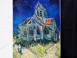 ゴッホ「オーヴェルの教会」
