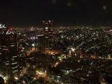 都庁舎からの夜景