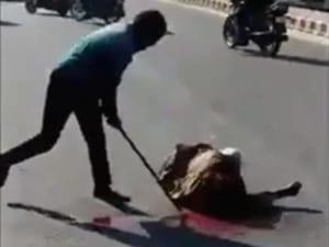 【閲覧注意】半グレに金属パイプで殴られ続けた男性の顔…これはアカン…