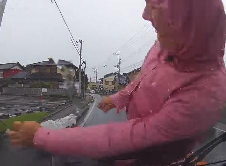 群馬県太田市でおばあさんをはねてしまったドライブレコーダー事故。