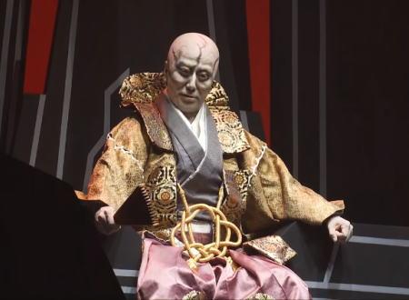 STAR WARSを歌舞伎役者が本気で演じるとこうなる。市川海老蔵主演 ~煉之介光刃三本~