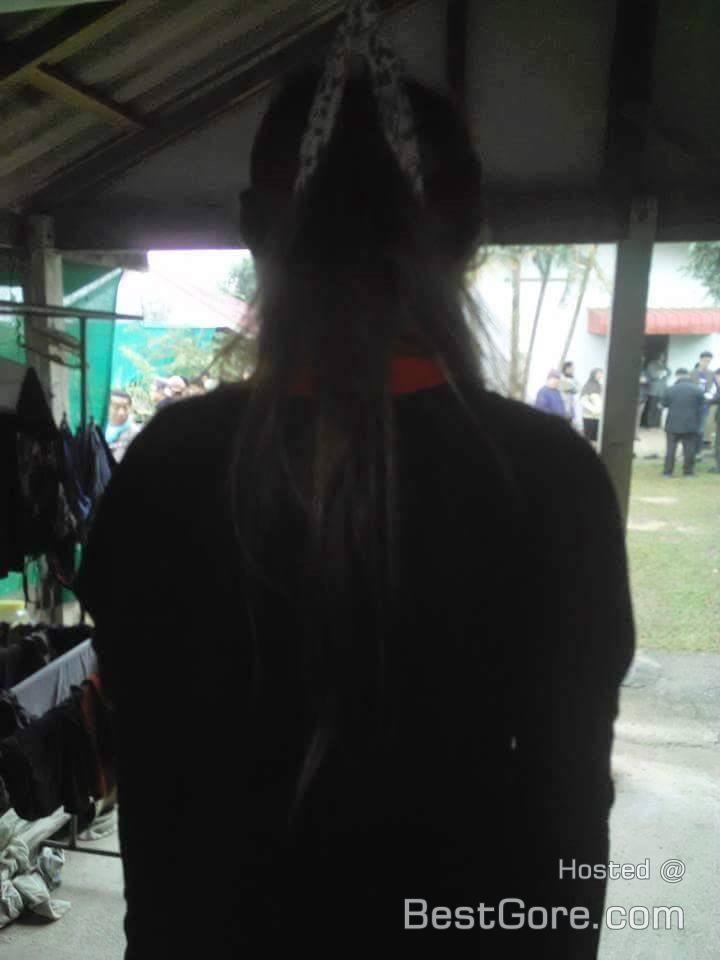 【閲覧注意】タイ人の売春少女がガレージで首つり自殺した事件現場女性死体画像!!