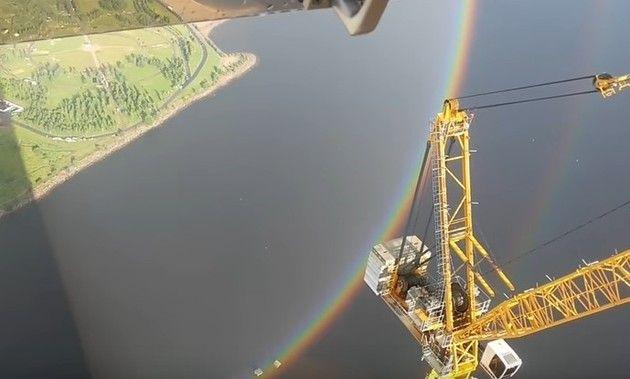 【動画】 ロシアにかかった完全に丸い「虹」の橋が凄い!!&オマケ!!