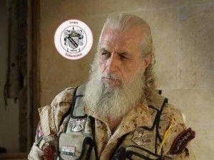 """【閲覧注意】シリアで """"戦争の神"""" と呼ばれる伝説の兵士の画像が撮影される…(2枚)"""