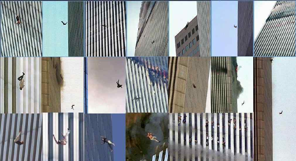 【グロ画像】3000人以上死亡した9.11テロでビルから飛び降りて脱出した人達の悲惨な末路・・・