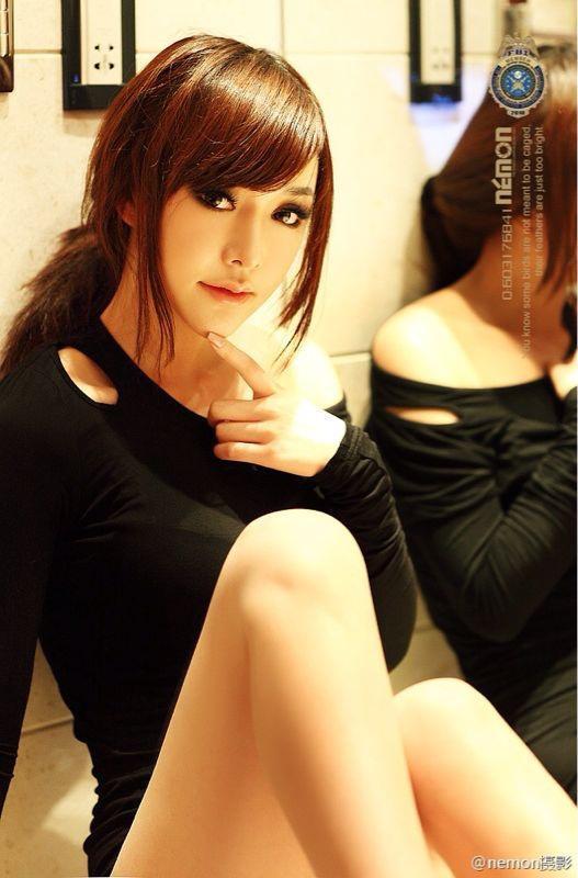 中国の人気モデル『韩子萱(Han Zi Xuan)』がものすごく美人。 極秘ヌード撮影会の全裸流出写真も(画像32枚)