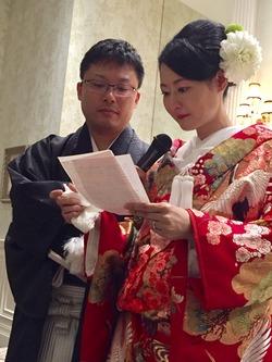 大竹先生結婚式1