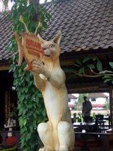 ウブドのネコ神