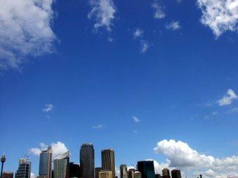 シドニーの空