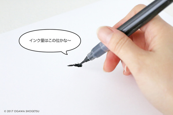 筆ペン準備_9236