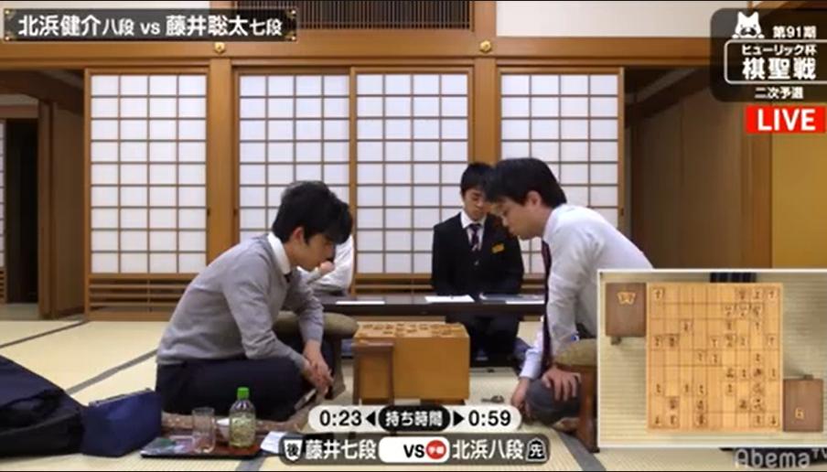 速報 藤井 聡太 結果