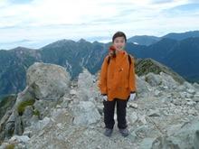 山頂記念写真