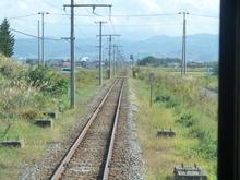 101016弘南鉄道の線路