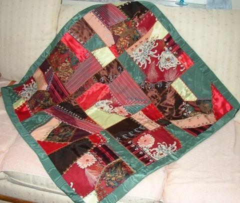 crazy quilt , fall color 1