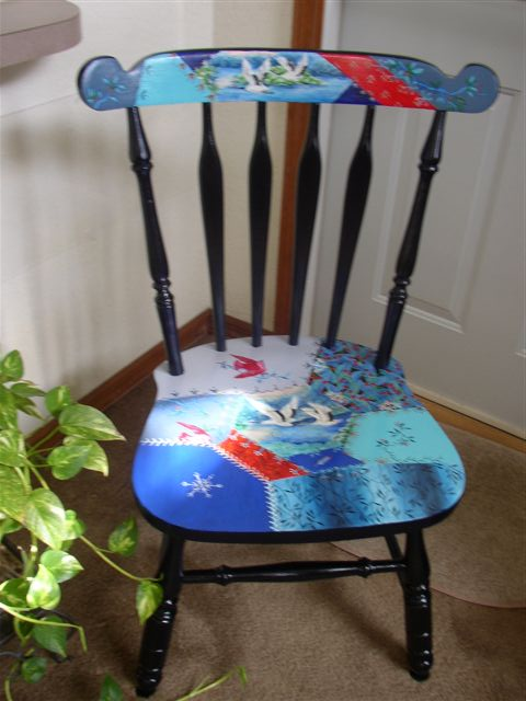 crazy quilt chair 260