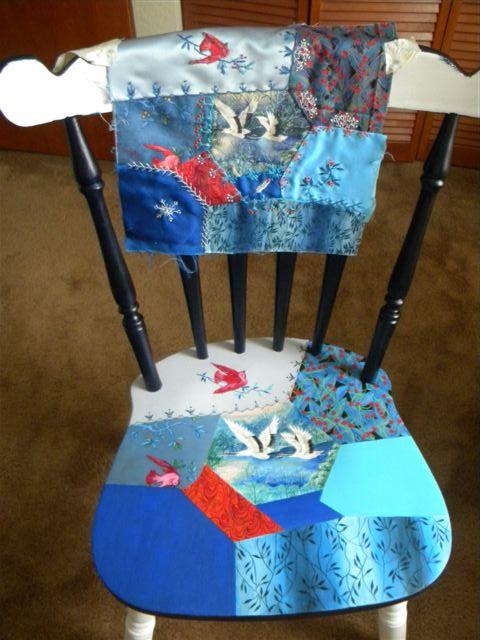 crazy quilt chair 254