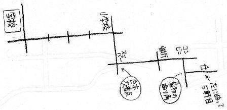 120322 自宅までの地図の書き方 Blog 将軍様のぼやき