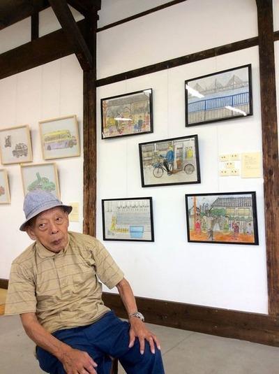 アノコロ・コノコロ展/滝瀬さんご来場