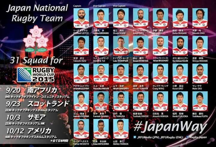 ラグビー日本代表着用スパイク一覧  0014のblog