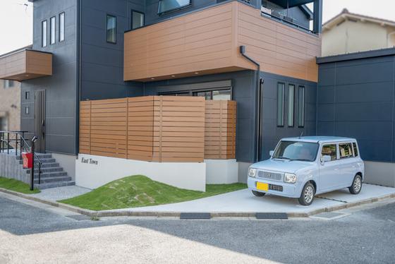 ビルトインガレージとは別で2台目の駐車スペース「オープンガレージ」を計画