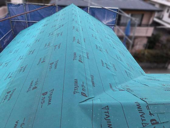 雨から家を守る、大切な役割のルーフィング