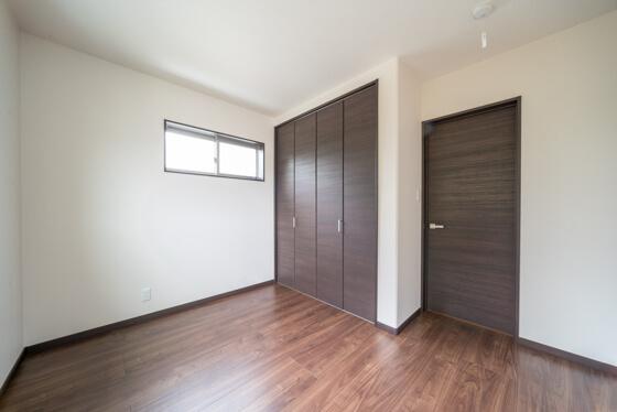 子供部屋は約5.5帖を個室にして2部屋設けられました