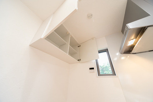 天井収納と換気扇
