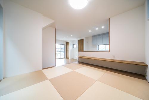 1階LDKの和室コーナー
