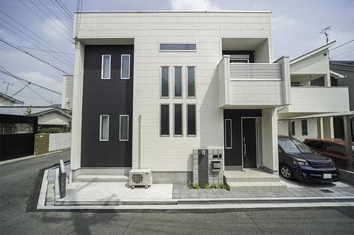キューブ型注文住宅の外観スタイル