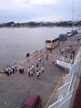 プンタレナス下船