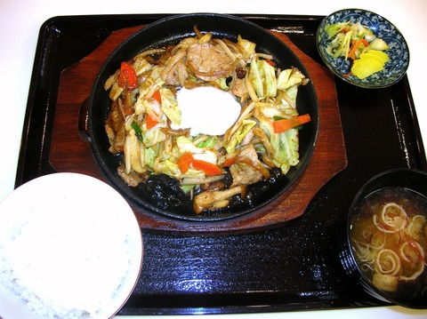 5 野菜炒め700円