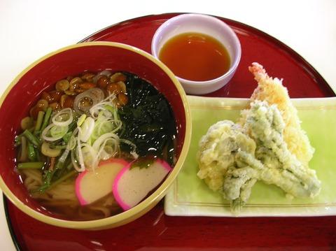 稲庭天ぷらセット1000