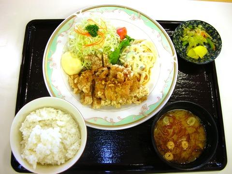6 唐揚定食