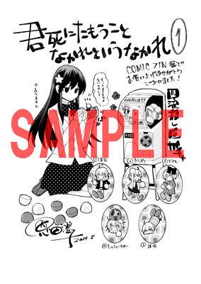 コミックZIN様用ペーパー