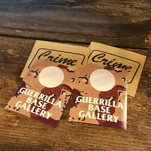 G.B.G. & CRIME Mini Sticker