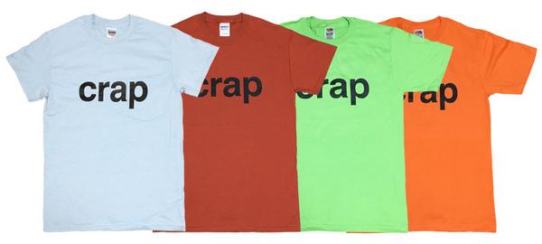 crap Tシャツ SUMMER SALE中です