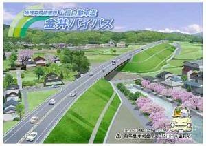 上信自動車道金井バイパス:上信...
