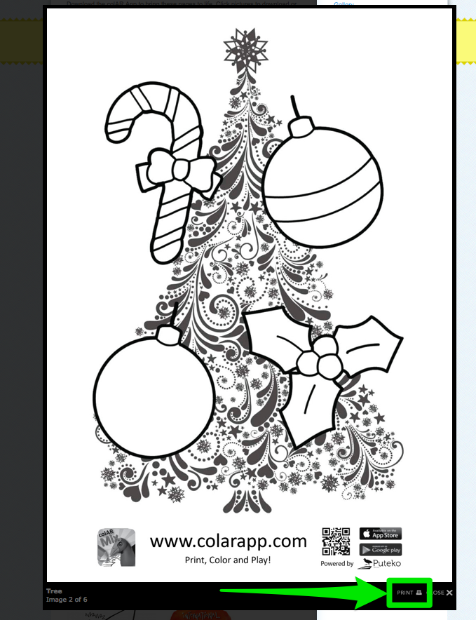 colar mix coloring pages - photo#3
