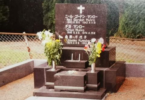 マンロー夫婦の墓