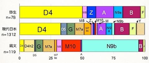 mDNA分布の変遷