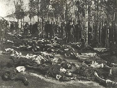 エルズルム虐殺の犠牲者たち(1895年