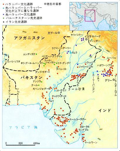 インダス地図