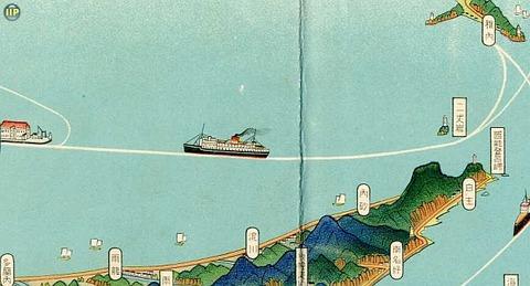 樺太鳥瞰図01