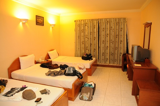 本日のホテル