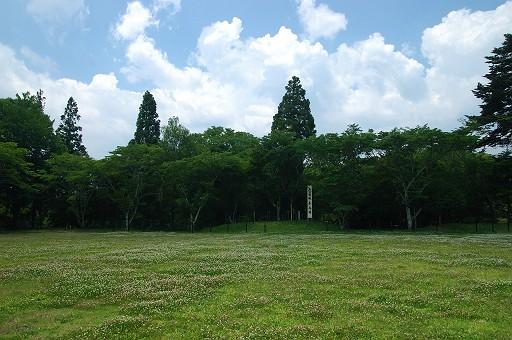長篠城本丸跡地