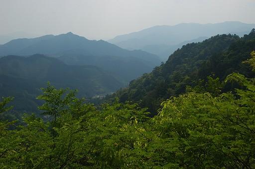 鳳来寺本宮からの景色